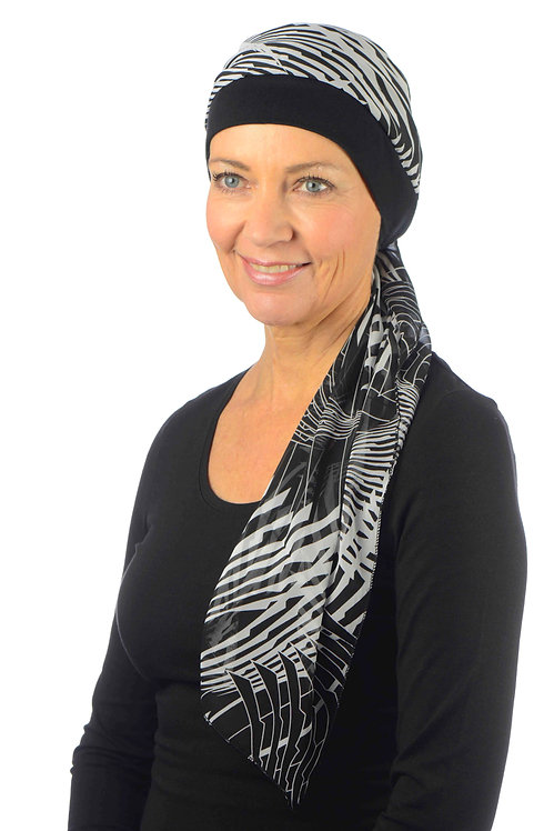 Zara Chemo Hat With Attached Head Scarf