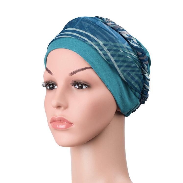 Emilia Cancer Scarf & Hat