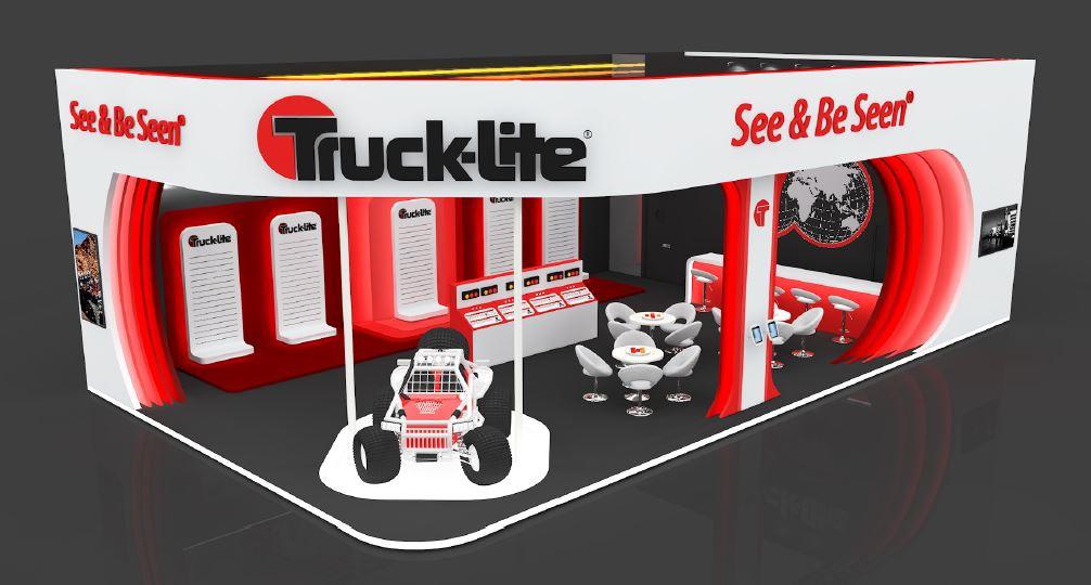 Trucklite exhibition stand design UK