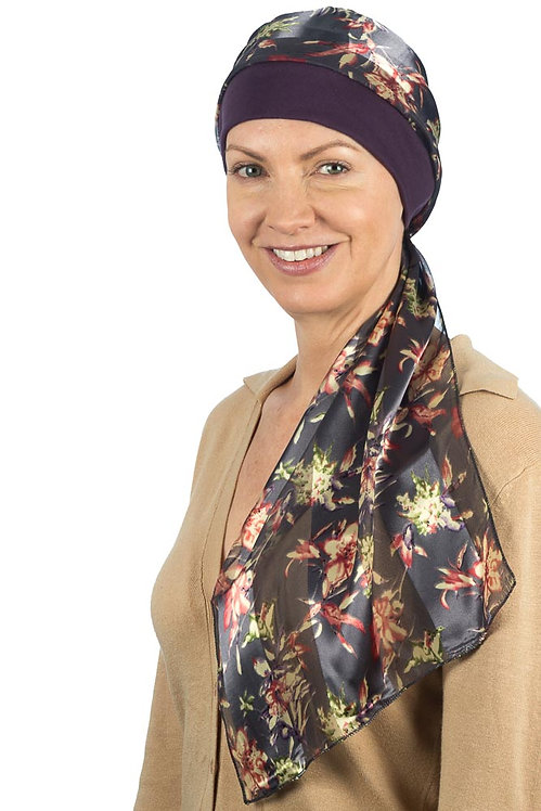 Elisa Chemo Head Scarf With Attached Hat