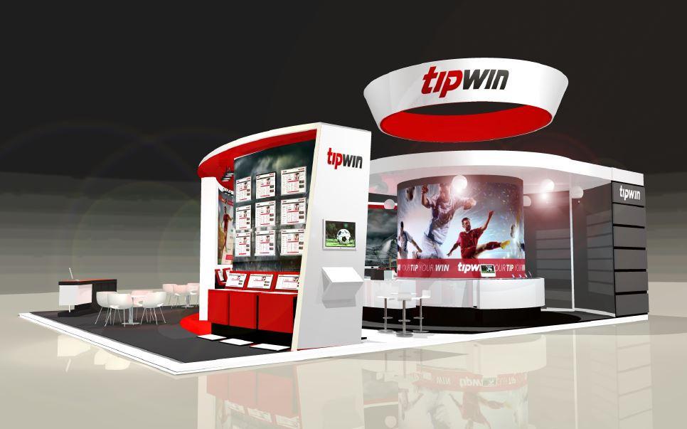 Tipwin exhibition stand design UK