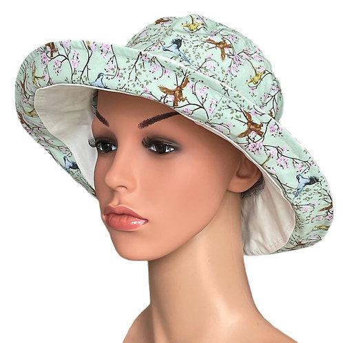 Carley Reversible Sun Hat Sea Green