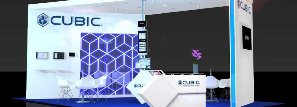 Cubic 1 exhibition stand design