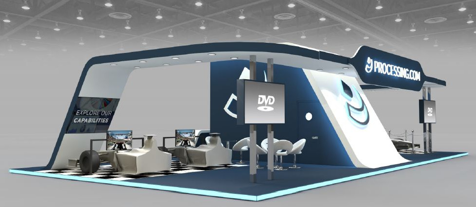 Processing exhibition stand designers UK