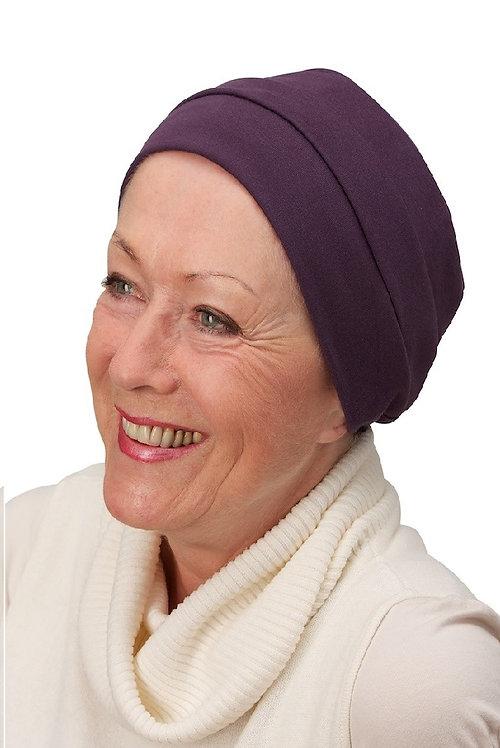 Lucy Chemo Hat/Chemo Beanie Plum