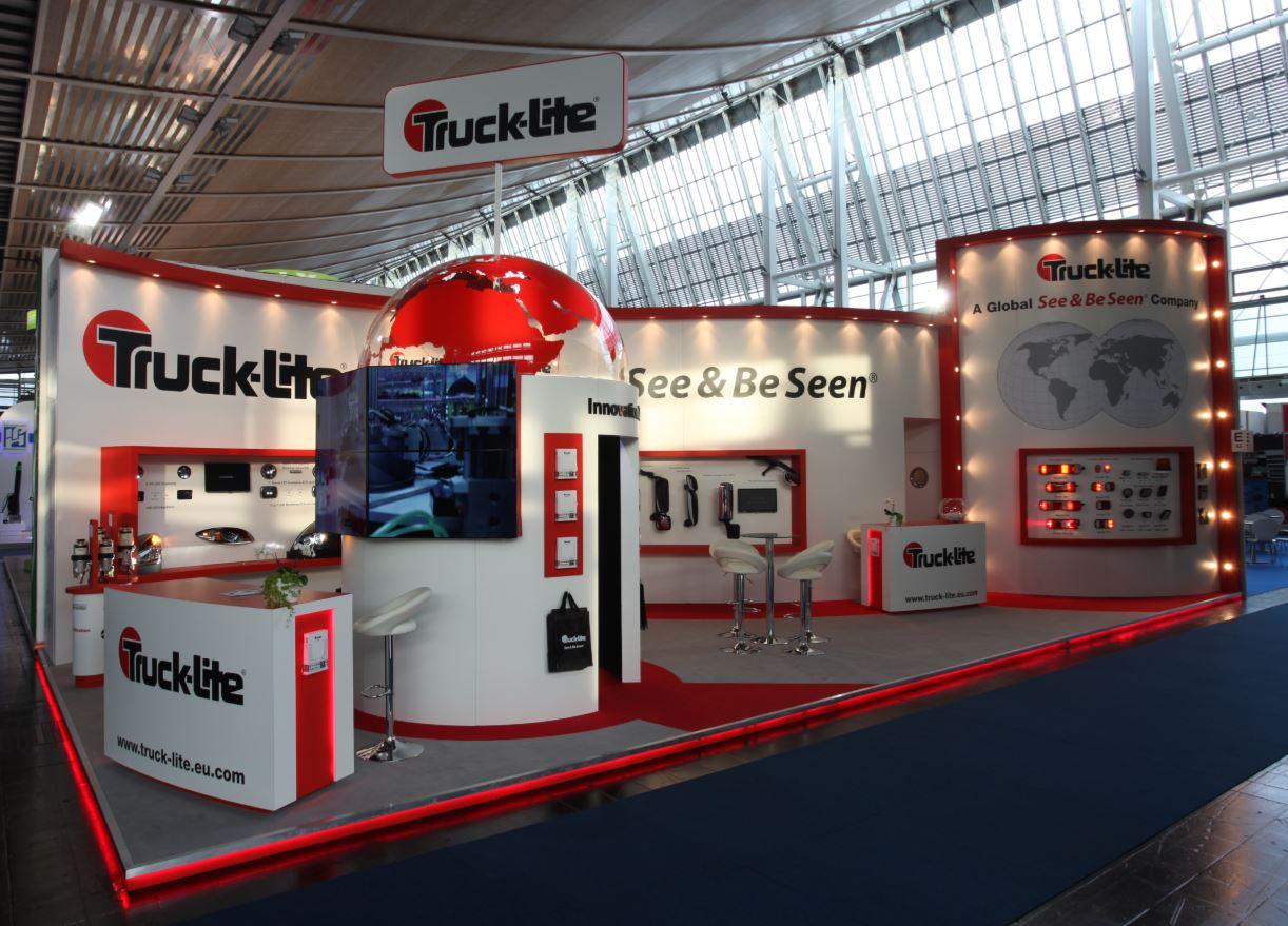 Truck-lite exhibition booth