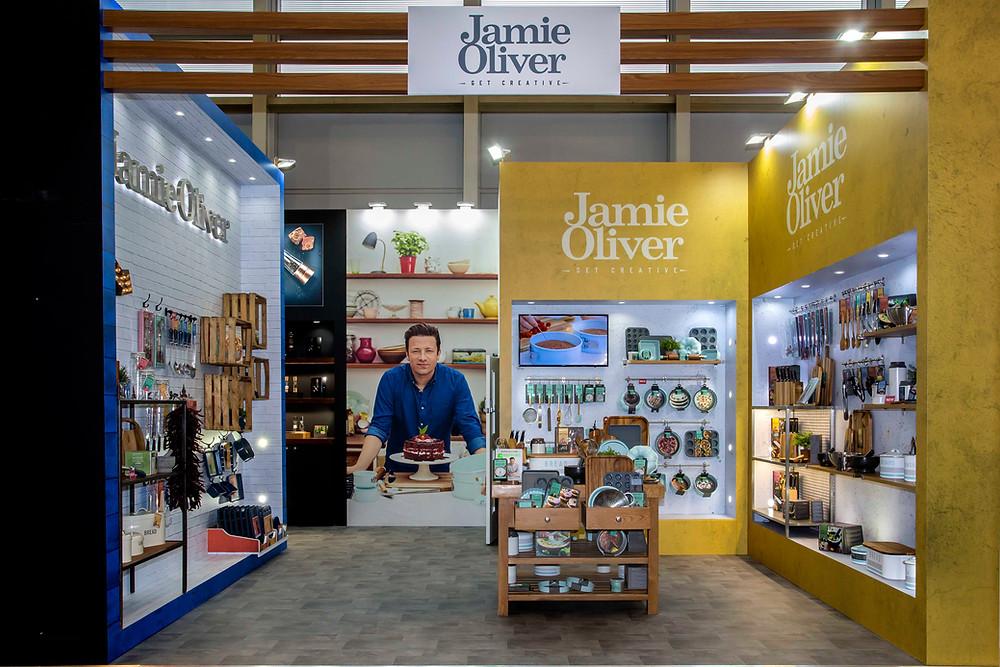 Jamie Oliver exhibition stand design ambiente