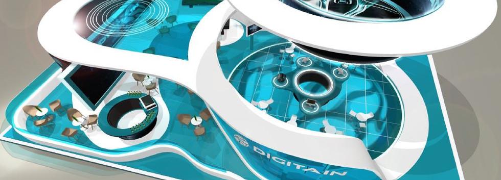 Digitain exhibition stand designers