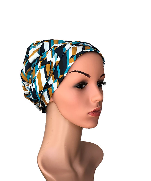 Mila Chemo Turban/Easy Tie Head Scarf For Cancer Patients