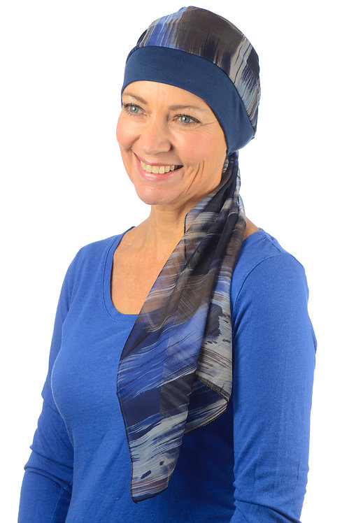 Catrina Chemo Head Scarf & Attached Hat