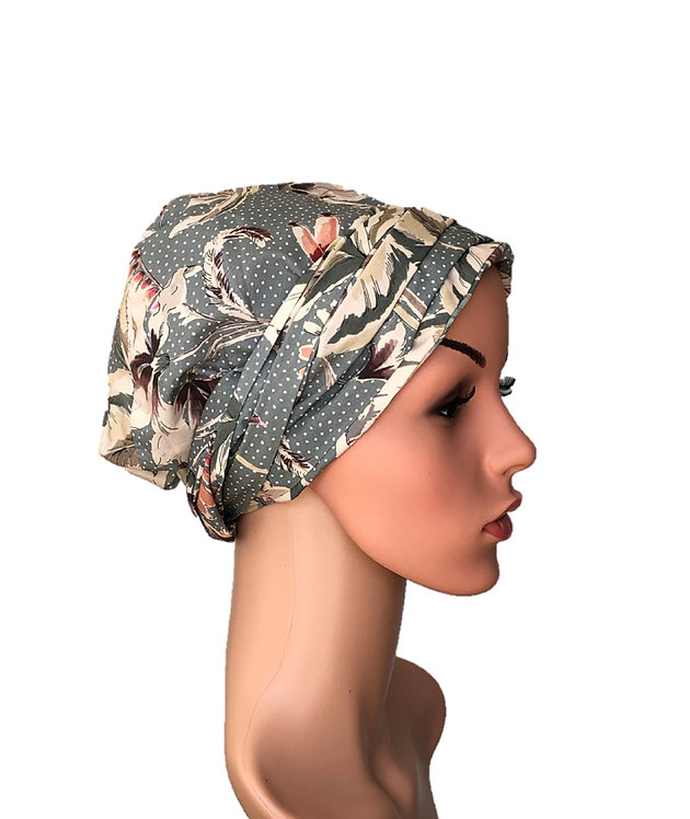 Quinn Chemo Turban/Easy Tie Head Scarf For Cancer Patients