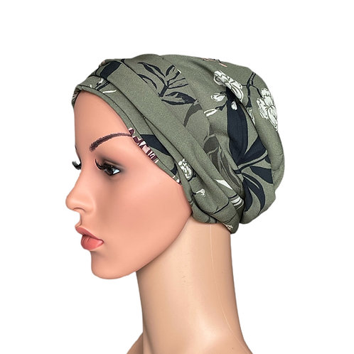Ivy Chemo Turban/Easy Tie Head Scarf For Cancer Patients