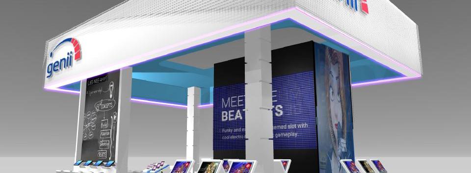 Genii exhibition stand design
