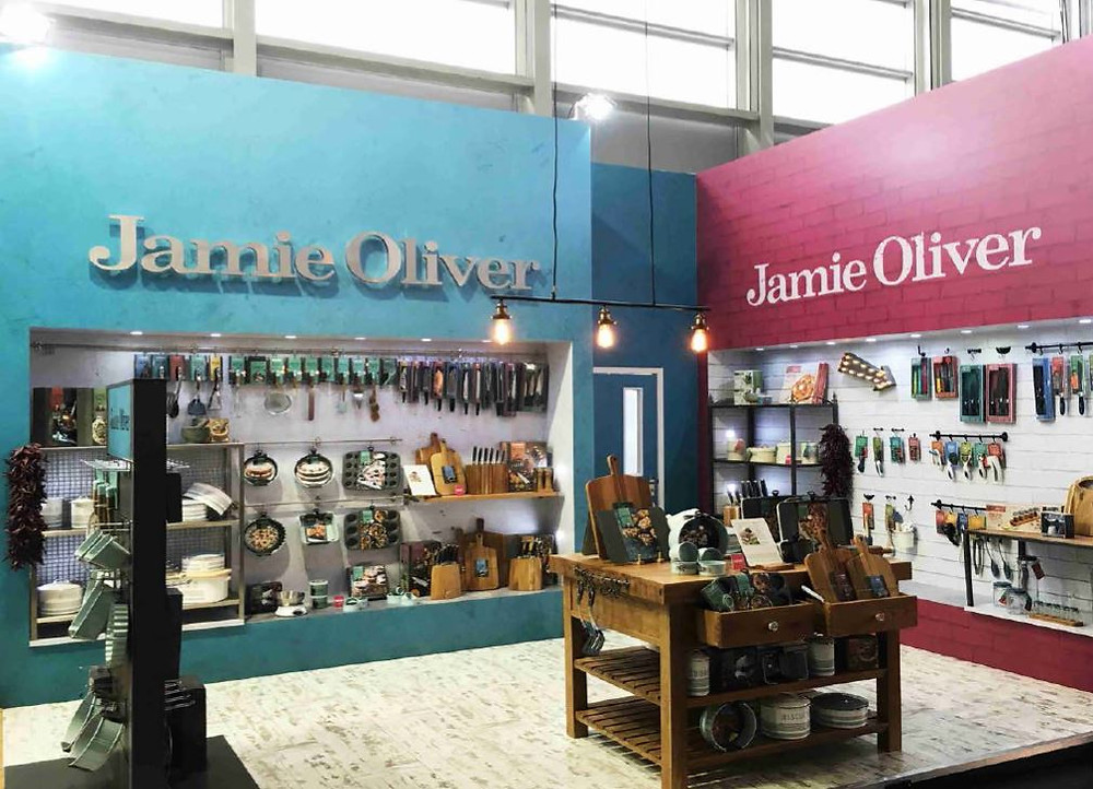 Jamie Oliver Exhibition Stand Design