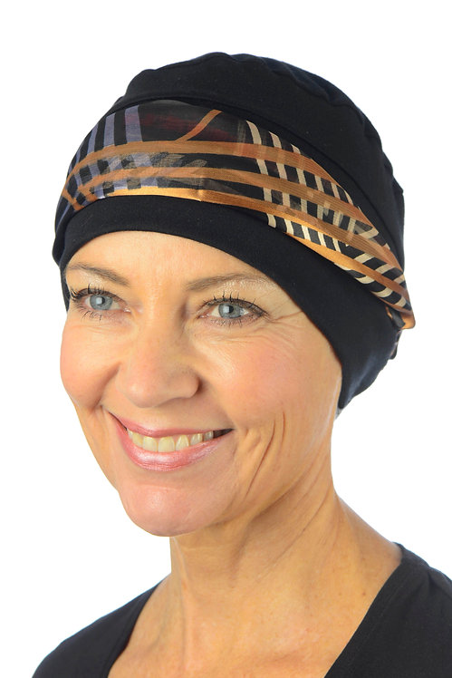Clarisse Chemo Head Scarf With Attached Hat