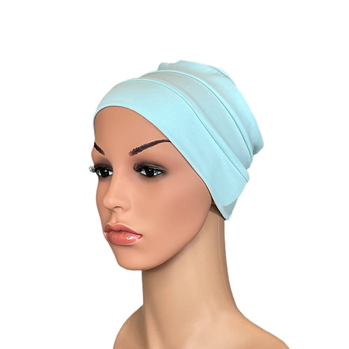 Lucy Chemo Hat/Chemo Beanie Aqua