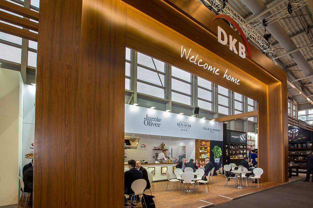 DKB trade show stand design