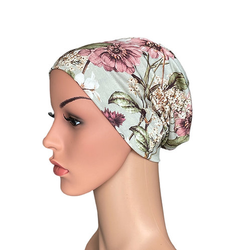 Molly Chemo Beanie for Cancer Patients - Sage Botanical