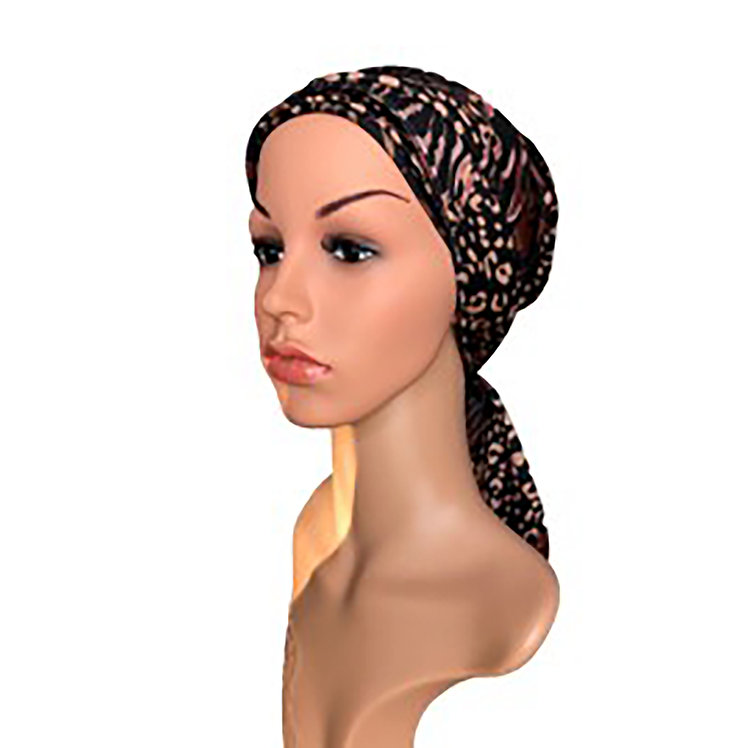 Aria Chemo Turban/Easy Tie Head Scarf For Cancer Patients