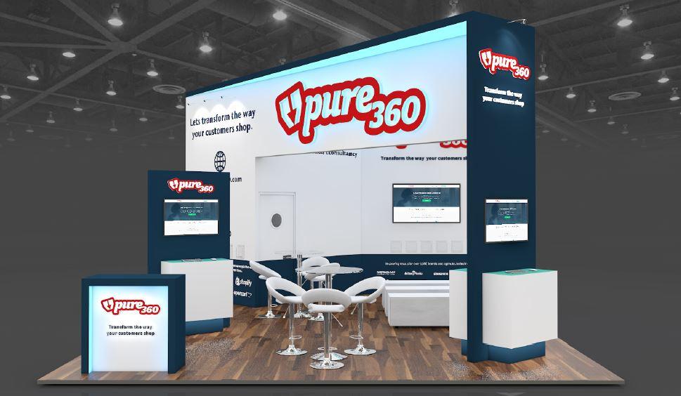 Pure 360 exhibition stand design