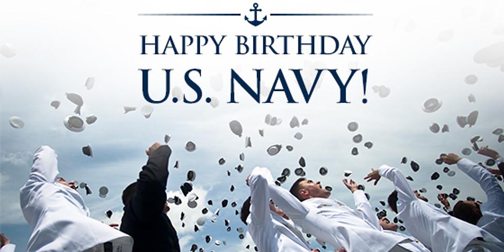 Operation Happy 244th Birthday United States Navy