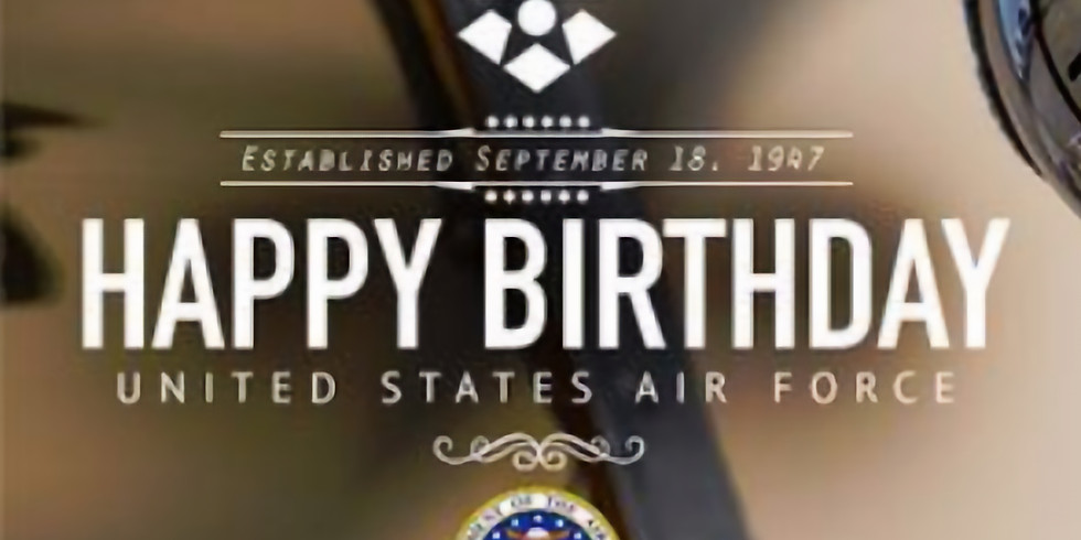 Operation Happy 79th Birthday United States Air Force