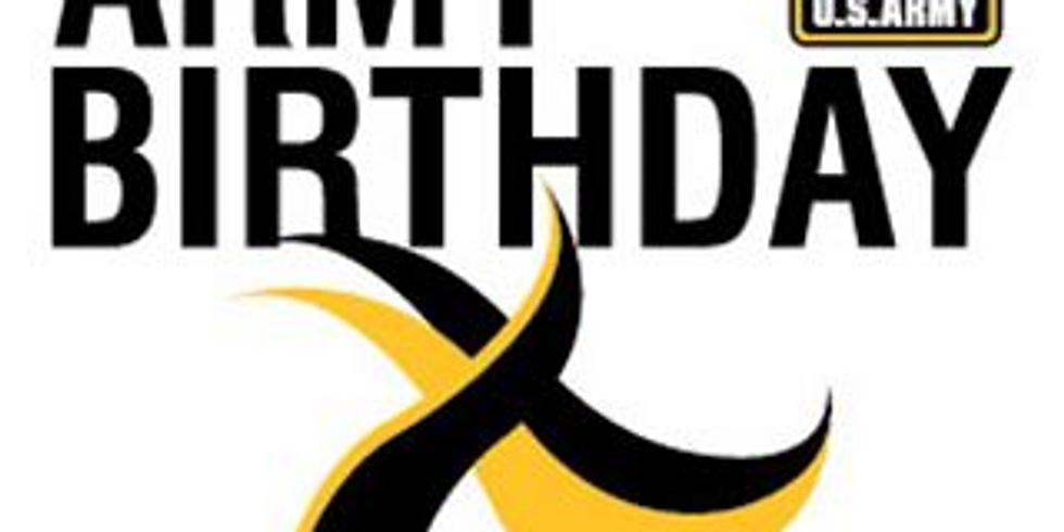 Operation Happy 244th Birthday United States Army