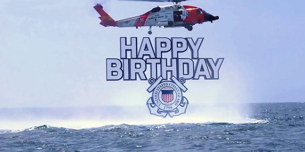 Operation Happy 229th Birthday United States Coast Guard