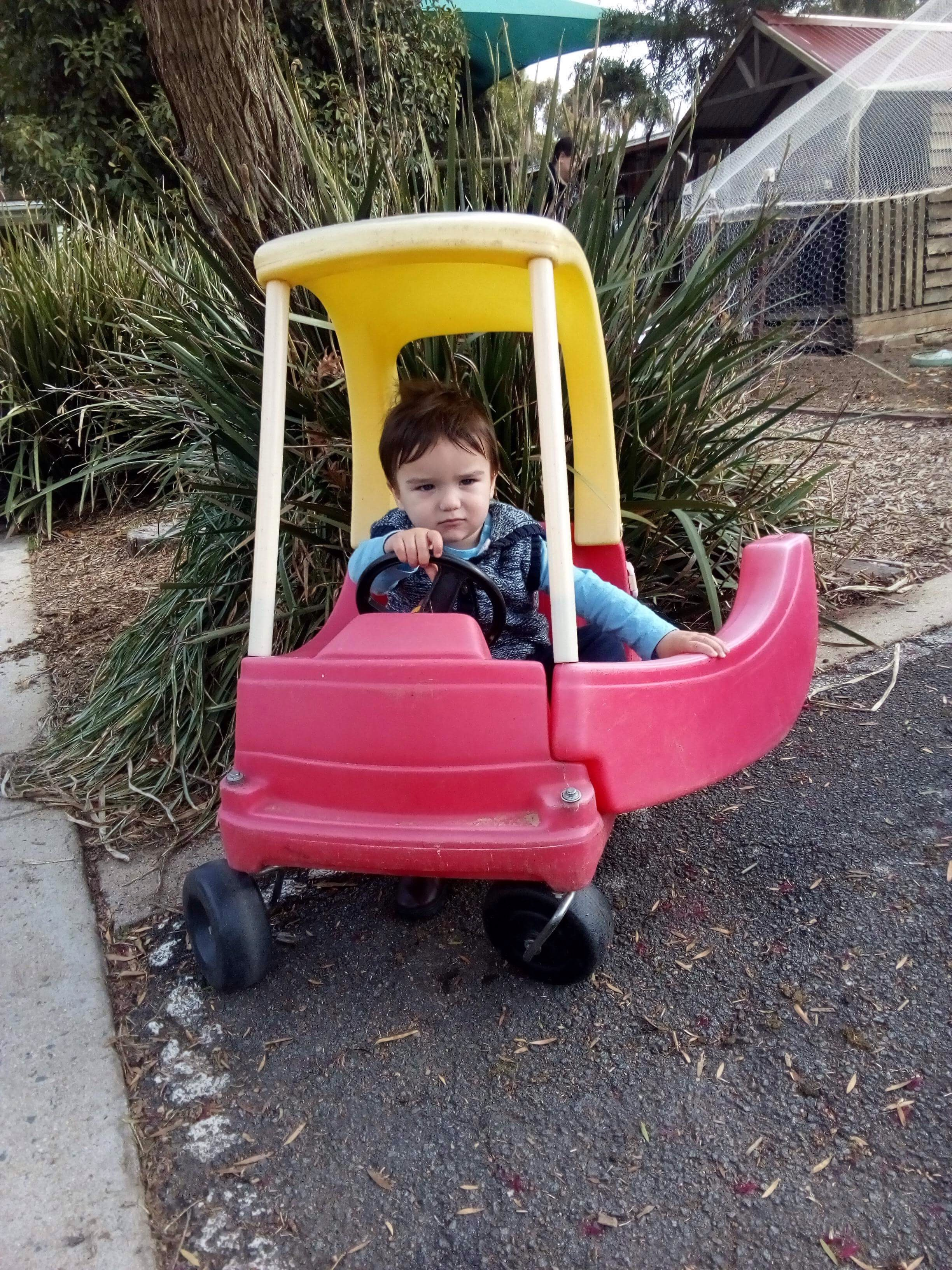 Matthew in Car