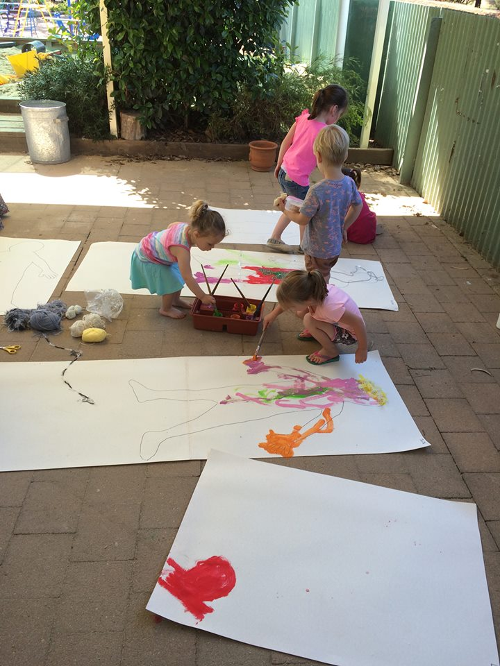 Education - Playgroup Painting