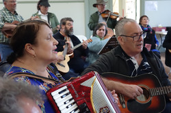 Jamming at the Moosic Muster