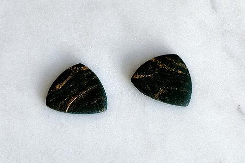 Emerald Marble // Stud