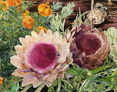 Big Sur in Bloom  15.5 X 12