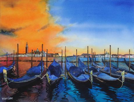 Venetian Sunset   19.5 X 15.jpg