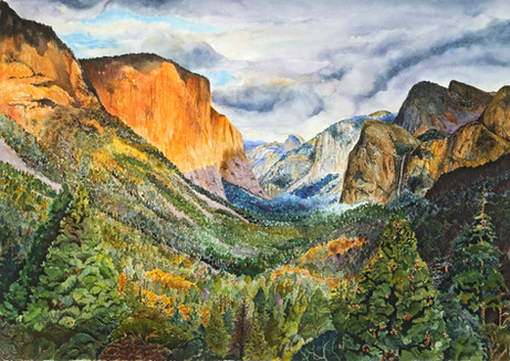 Peace in the Valley  15 X 21