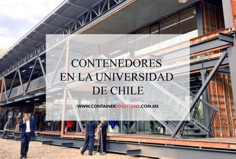 Contenedores en la Universidad de Chile