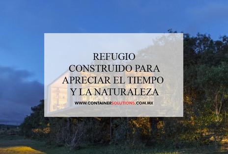 Refugio construido en Brasil para apreciar el tiempo y la naturaleza