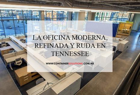 La oficina moderna, refinada y ruda en Tennessee