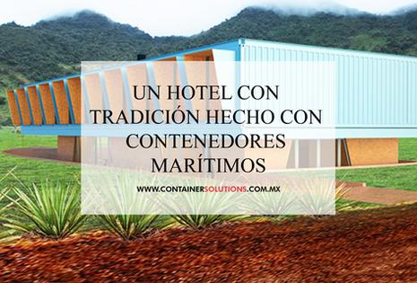 Un hotel con tradición hecho con contenedores