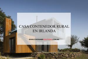 Casa contenedor rural en Irlanda