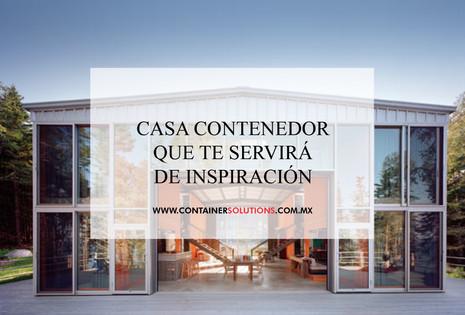 Casa de contenedores que te servirá de inspiración