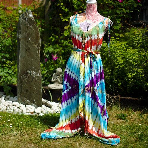 Bali Afgani Multi Tie-Dye Playsuit
