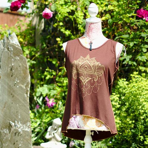 Lotus Print Top