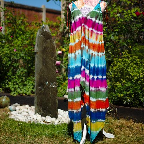 Bali Afgani Tie-Dye Playsuit Multi2