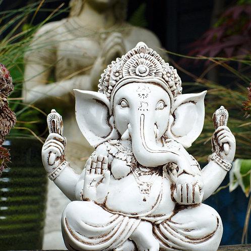 Large Ganesha - Cream or Black