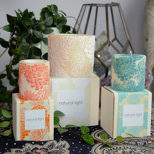 Japanese Chrysanthemum Handmade Candles