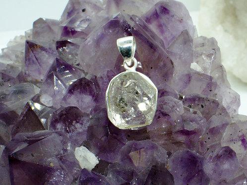 Herkimer Diamond Sterling Silver Pendant HDD
