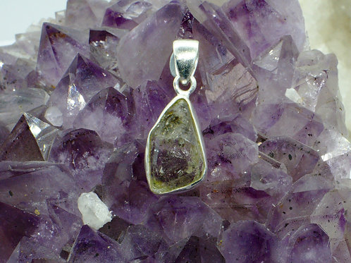 Herkimer Diamond Sterling Silver Pendant HDI