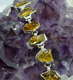RAW CRYSTAL BRACELETS