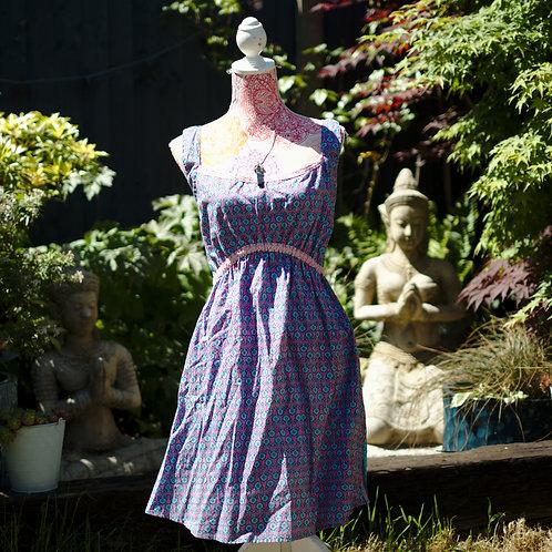 Cotton Sundress Pink Size XL